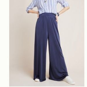 Anthropologie/ MAEVE Shiloh Knit Wide Leg Pants
